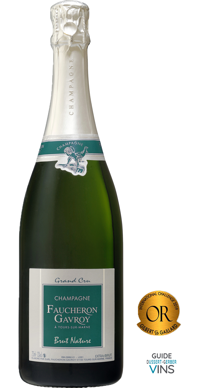 Champagne Faucheron-Gavroy : CUVÉE NATURE EXTRA BRUT